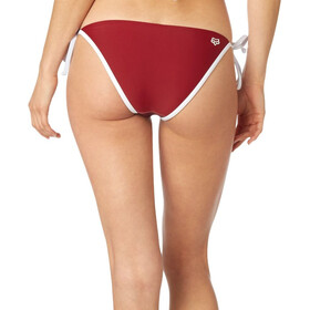 Fox Momentum Side Tie Bas de bikini Femme, dark red